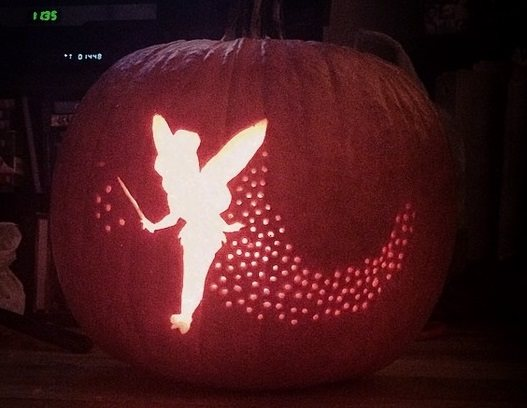Five Magical Disney Themed Jack-o-Lanterns